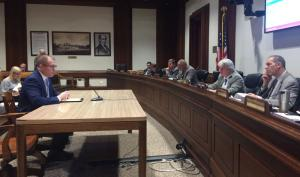 Hearing Held on COLA, Part-Time Work and Option B/C Legislation